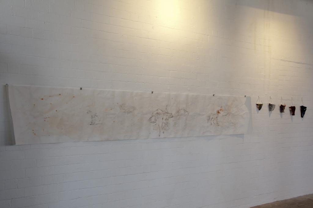 MFA, UU, 1st yr 81E01 Group Show Installation, Platform, 2013