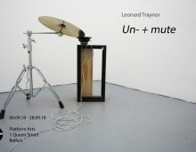 Un- + mute |  Leonard Traynor