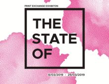 The State Of // Print Exchange Exhibition